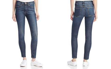 FRAME Le High Skinny Jeans in Harvard - Bloomingdale's_2