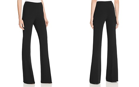 Theory Demitria Admiral Crepe Flare Pants - Bloomingdale's_2