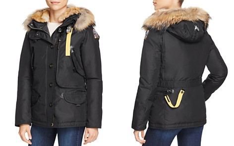 Parajumpers Doris Mixed Fur Trim Down Coat - Bloomingdale's_2