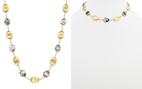 """Marco Bicego 18K Yellow Gold Lunaria Black Mother-Of-Pearl Short Necklace, 16"""" - Bloomingdale's_2"""