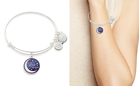 Alex and Ani Stellar Love Expandable Wire Bangle, Charity by Design Collection - Bloomingdale's_2