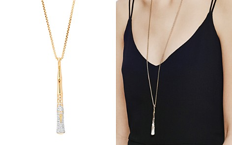 """John Hardy 18K Gold Bamboo Pendant Necklace with Diamonds, 32"""" - Bloomingdale's_2"""