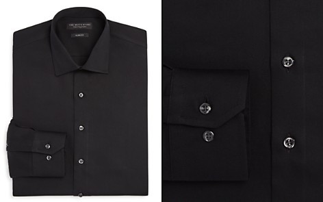 The Men's Store at Bloomingdale's Solid Slim Fit Dress Shirt_2