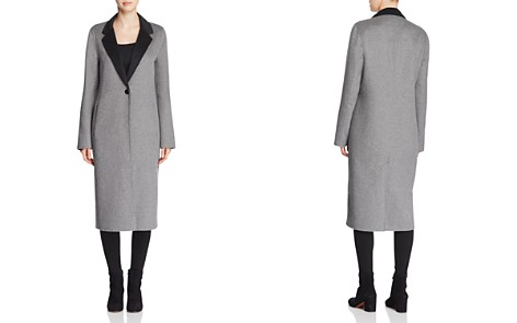 Calvin Klein Double-Faced Longline Coat - Bloomingdale's_2
