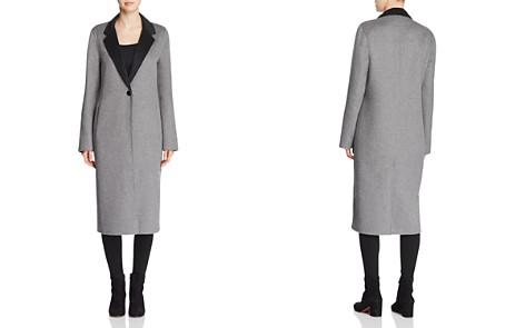 Calvin Klein Double-Faced Longline Coat - Bloomingdale's_2