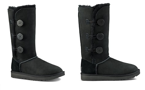 UGG® Bailey Button Triplet Sheepskin Mid Calf Boots - Bloomingdale's_2