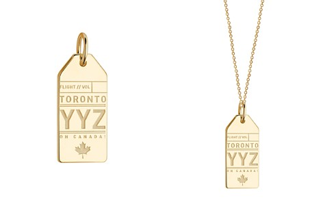 Jet Set Candy Toronto, Canada YYZ Luggage Tag Charm - Bloomingdale's_2