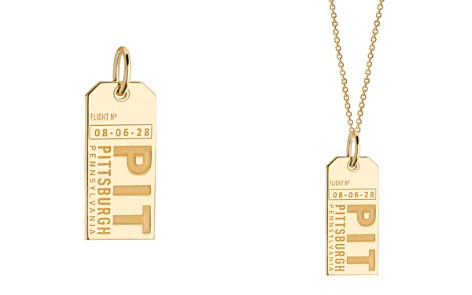 Jet Set Candy Pittsburgh, Pennsylvania PIT Luggage Tag Charm - Bloomingdale's_2
