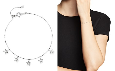 Diamond Star Charm Bracelet in 14K White Gold, .20 ct. t.w. - 100% Exclusive - Bloomingdale's_2