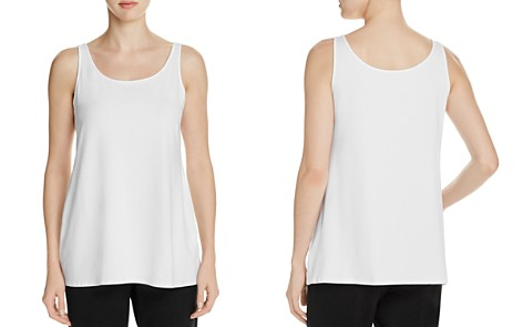 Eileen Fisher System Scoop Neck Tank - Bloomingdale's_2