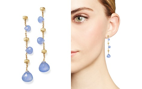 Marco Bicego 18K Yellow Gold Paradise Chalcedony Drop Earrings - Bloomingdale's_2