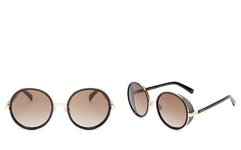 Jimmy Choo Andie Round Sunglasses, 53mm - Bloomingdale's_2
