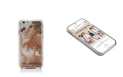 Rebecca Minkoff Liquid Glitter Peace Sign iPhone 7 Case - Bloomingdale's_2