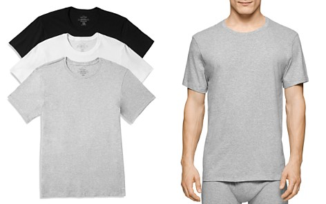 Calvin Klein Cotton Classics Crew Neck Tees, Pack of 3 - Bloomingdale's_2