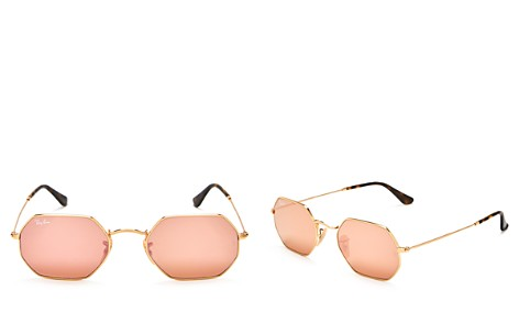 Ray-Ban Icons Mirrored Sunglasses, 52mm - Bloomingdale's_2