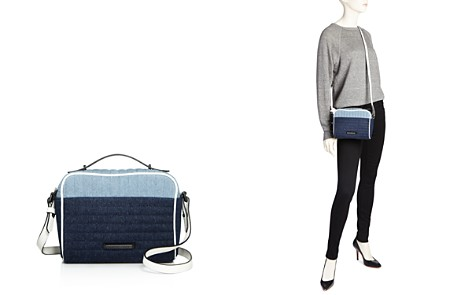 KENDALL and KYLIE Lucy Denim Crossbody - 100% Exclusive - Bloomingdale's_2