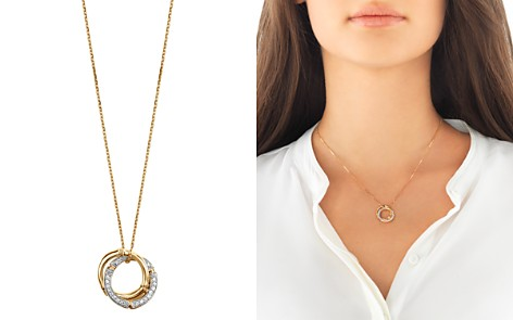 """John Hardy 18K Yellow Gold Bamboo Pendant Necklace with Diamonds, 16"""" - Bloomingdale's_2"""
