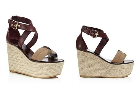 Burberry Arkinson Platform Wedge Sandals - Bloomingdale's_2