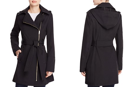 Via Spiga Asymmetric Front Belted Trench Coat - Bloomingdale's_2