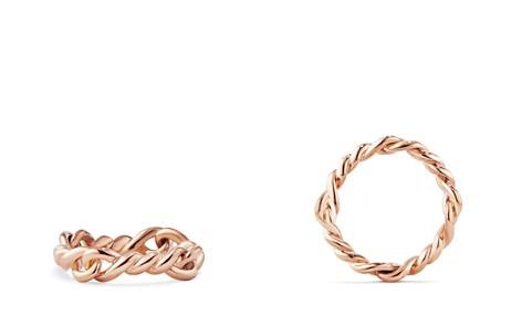 David Yurman Continuance Ring in 18K Rose Gold, 5mm - Bloomingdale's_2