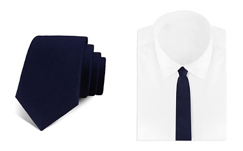Bloomingdale's Boys Boys' Solid Silk Tie - 100% Exclusive_2