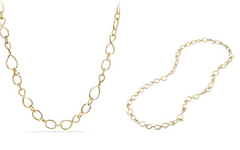 David Yurman Continuance Medium Chain Necklace in 18K Gold - Bloomingdale's_2