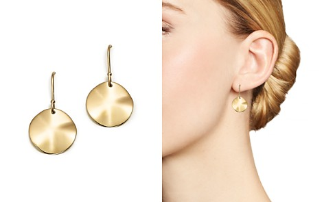 IPPOLITA 18K Gold Wavy Disc Earrings - Bloomingdale's_2