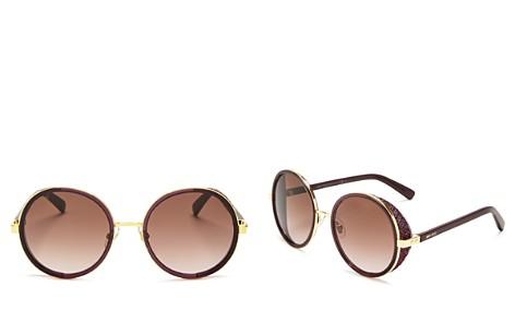 Jimmy Choo Women's Andie Round Sunglasses, 54mm - Bloomingdale's_2