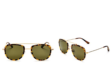 Krewe Women's Breton 24K Polarized Aviator Sunglasses, 52mm - Bloomingdale's_2