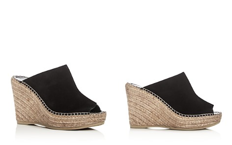 Andre Assous Women's Cici Leather Espadrille Wedge Slide Sandals - Bloomingdale's_2