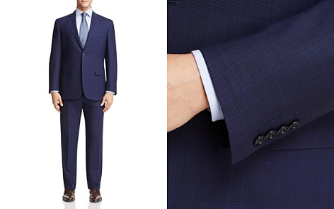 Canali Tonal Plaid Classic Fit Suit - Bloomingdale's_2