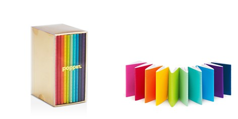 Poppin Mini Medley Bright Notebooks, Set of 10 - Bloomingdale's_2