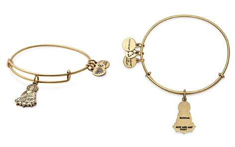 Alex and Ani Buddha Expandable Wire Bangle - Bloomingdale's_2