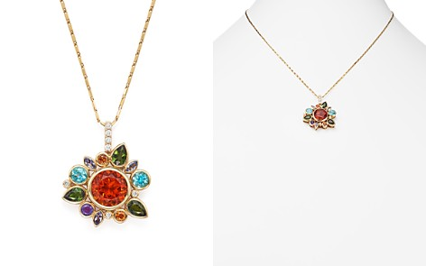 "Multi Gemstone Pendant Necklace with Diamonds in 14K Yellow Gold, 18"" - 100% Exclusive - Bloomingdale's_2"