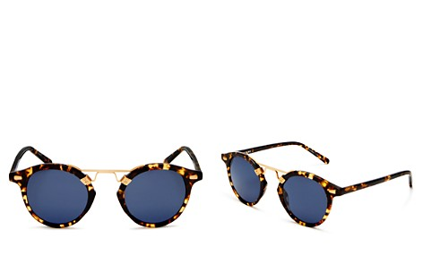 Krewe Women's St. Louis 24K Polarized Sunglasses, 46mm - Bloomingdale's_2