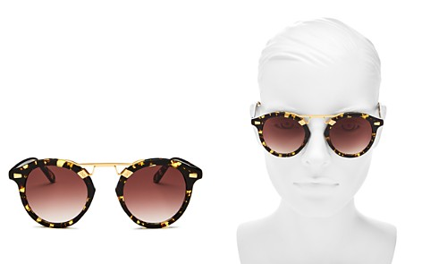 Krewe Women's STL II 24K Gradient Round Sunglasses, 48mm - Bloomingdale's_2