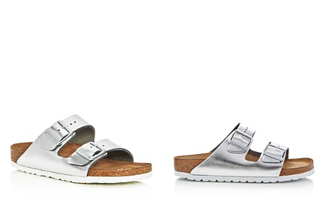 Birkenstock Arizona Metallic Two Band Slide Sandals - Bloomingdale's_2