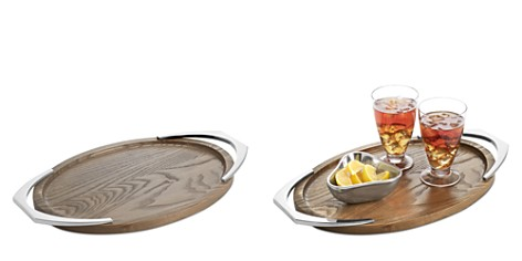Nambé Cabo Oval Handled Tray - Bloomingdale's Registry_2