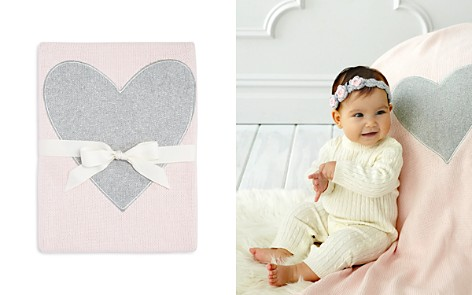 Elegant Baby Infant Girls' Heart Blanket - Bloomingdale's_2