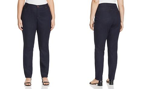 Eileen Fisher Plus System Skinny Jeans in Indigo - Bloomingdale's_2