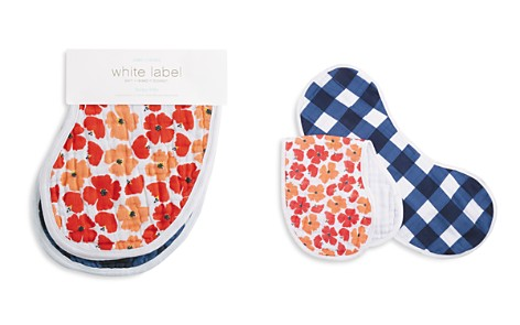 Aden and Anais White Label Infant Girls' Flora Burpy Bibs, 2 Pack - Bloomingdale's_2