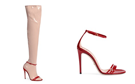 Gucci Ilse 2-in-1 Latex Boots - Bloomingdale's_2