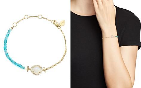 Meira T 14K Yellow Gold Rainbow Moonstone, Diamond and Neon Apatite Beaded Bracelet - Bloomingdale's_2