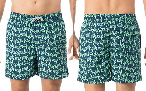 TOM & TEDDY Turtle-Print Swim Trunks - Bloomingdale's_2