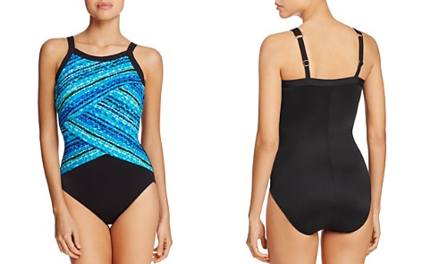 Miraclesuit Night Light Printed One Piece Swimsuit - Bloomingdale's_2