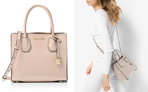 MICHAEL Michael Kors Studio Mercer Medium Leather Messenger - Bloomingdale's_2