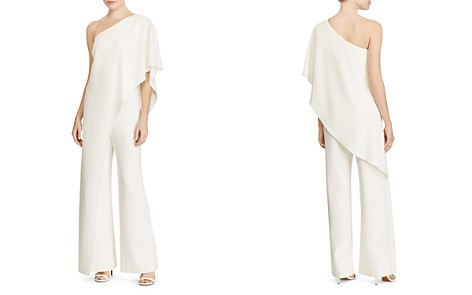 Lauren Ralph Lauren Ruffle One-Shoulder Jumpsuit - Bloomingdale's_2