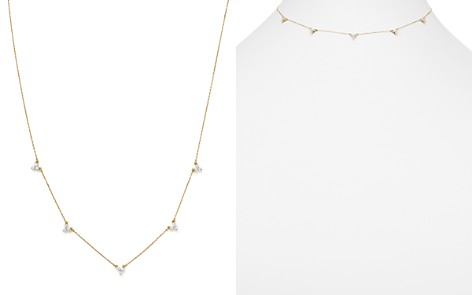 "Adina Reyter 14K Yellow Gold Diamond Cluster Choker Necklace, 13.5"" - Bloomingdale's_2"