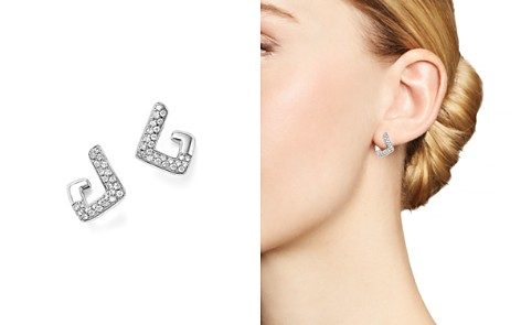 Diamond Geometric Drop Earrings in 14K White Gold, .35 ct. t.w. - 100% Exclusive - Bloomingdale's_2