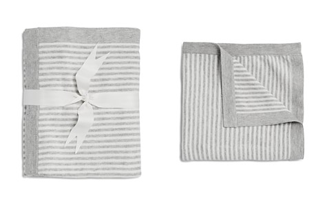 Elegant Baby Infant Unisex Striped Blanket - Bloomingdale's_2